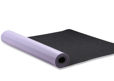China Sport PU Natural Rubber Yoga Mat Odour Free Non Slippery Eco Friendly supplier