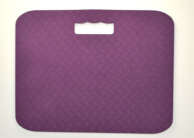 China Purple Yoga Kneeling Pad , Sports Knee Pads / Cushion For Gardening supplier