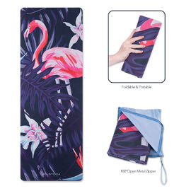 China Thin Folding Durable Travel Yoga Mat For Exercise Activity Using Water Resistance supplier