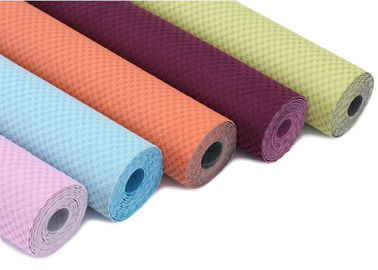 China Colorful Comfortable Yoga Towel Non Slip Soft Feeling Eco - Friendly factory
