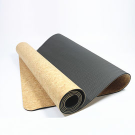 China Yoga Practice Cork Yoga Mat Toxic Free Unique Texture Good Anti Slip Surface factory