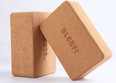 Square Cork Yoga Block Slip Resistant Moisture Proof Eco Friendly Material
