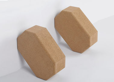 Irregular Body Cork Yoga Block Odor Free Non Absorbent Slip Resistant Surface